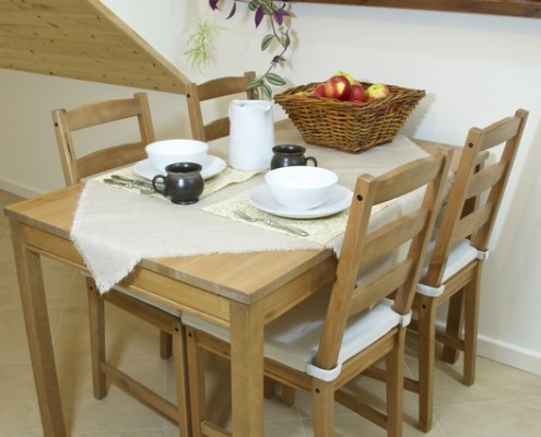 Wnętrza w Sadhu Bhavan - Kuchnia